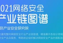 齐安科技上榜《2021年嘶吼·网络安全产业链图谱》