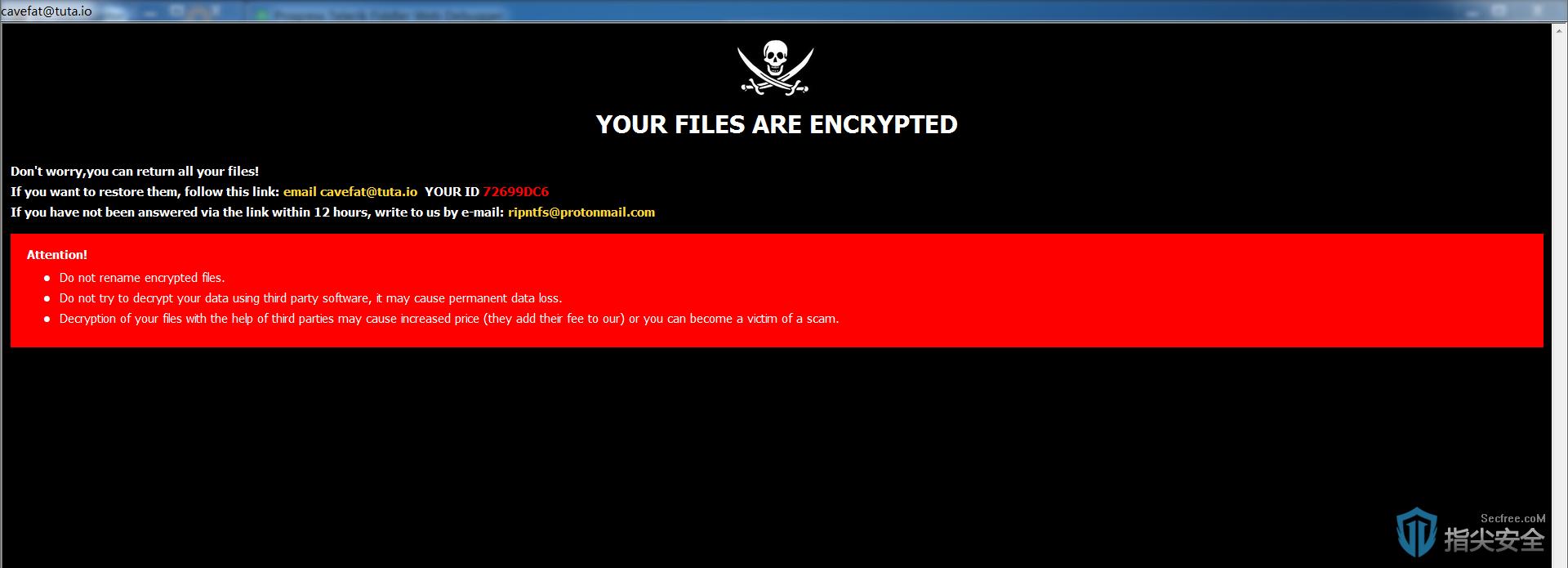 """""""佛系""""Crysis勒索病毒突然变种 变身黑客工具合辑"""