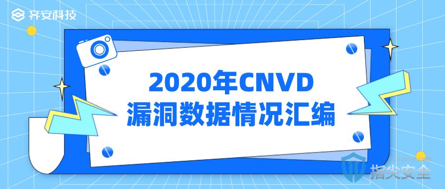 2020年CNVD漏洞数据情况汇编